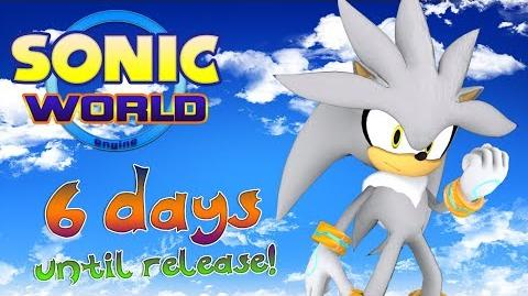 Sonic World - Silver the Hedgehog gameplay