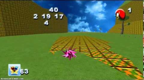 Sonic Universe DLC - Green Valley - Spike Wisp Stage Run-0