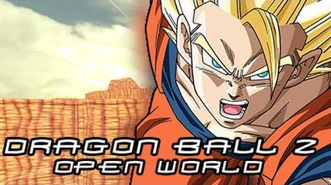 Unfinished Dragon Ball Z Open World FanGame