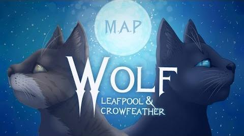 Wolf - Leafpool & Crowfeather Complete Warrior Cats M.A