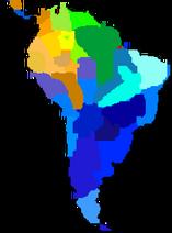 EthnicDistributionOfSouthAmericanRaccoonas