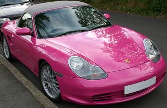 Pink boxster