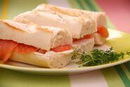 Salmon Cream Cheese Sandwiches