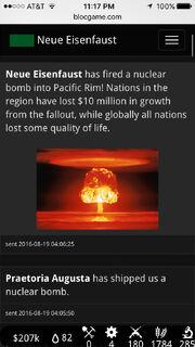 Neue Eisenfaust nukes