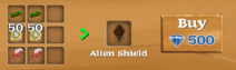 Alien Shield craft
