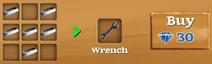 Wrench Recipe