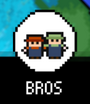 Bros Button