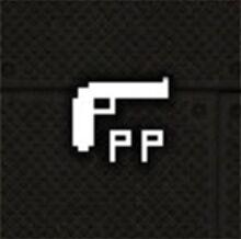 Block Fortress Plasma Pistol Icon