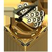 Block radar cogwheel