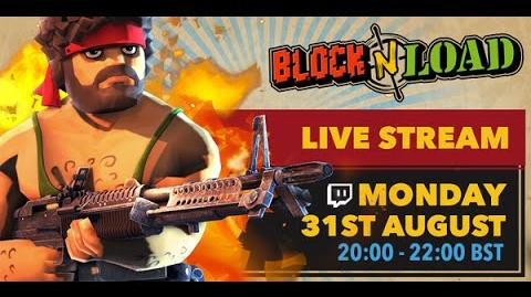 Block N Load-The best Monday Stream game I've ever played