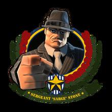 Frame Sarge mafia