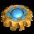 Block landmine cogwheel