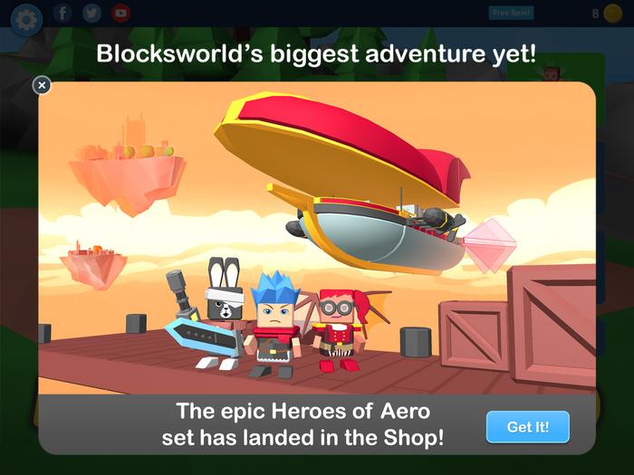 New Heroes of Aero set!