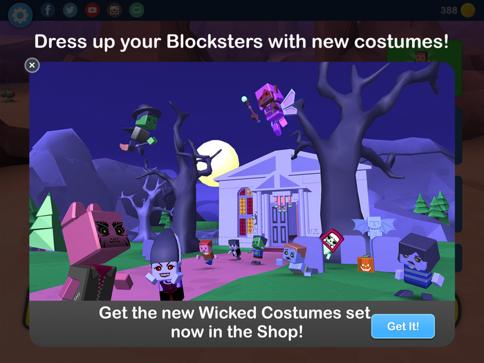 New Wicked Costumes set!