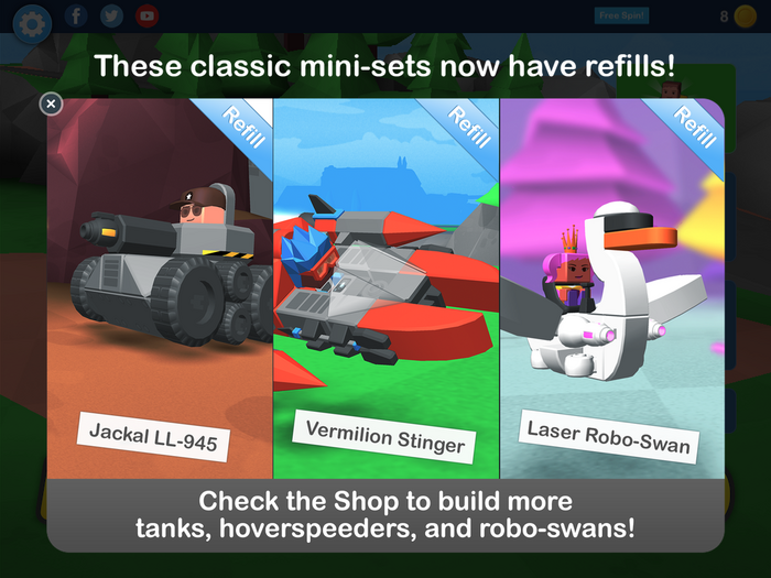 New refills for Classic mini-sets!