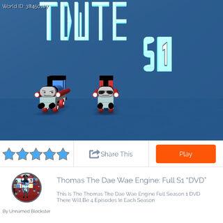Thomas The Dae Wae Engine