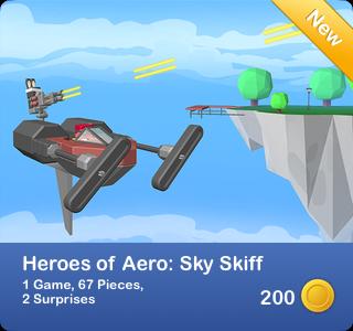 Heroes of Aero - Sky Skiff
