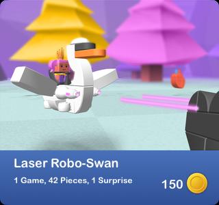 Laser Robo-Swan