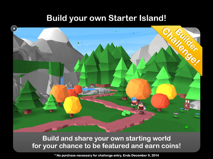 New Builder Challenge - Customed Starter Island!