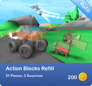 Action Blocks Refill