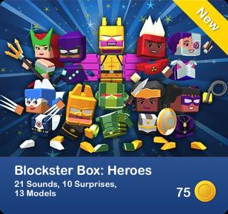 Blockster Box - Heroes
