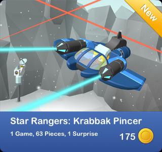 Star Rangers - Krabbak Pincer