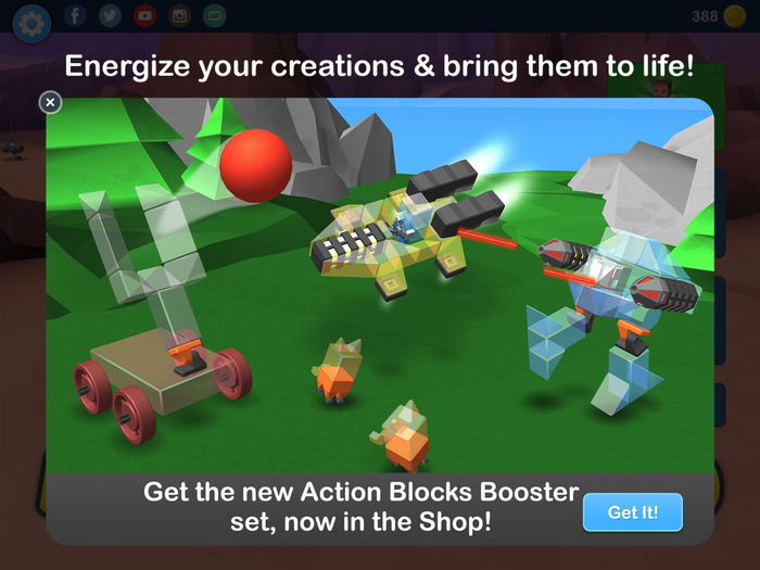 New Action Blocks Booster set!