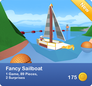 Fancy Sailboat