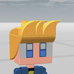 Test's Johnny Test look, used until Test's name change to MelmitchiSucks