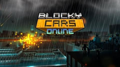 Blocky Cars Online New Battle