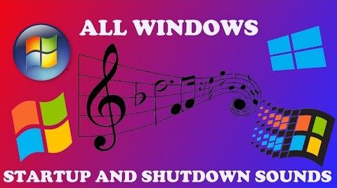 MICROSOFT WINDOWS ALL STARTUP AND SHUTDOWN SOUNDS-0