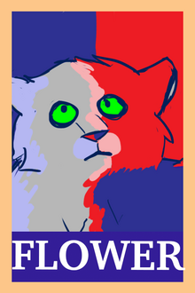 Flowerstream, as depicted for the blogclan elections by shiver