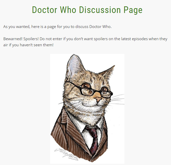 Warriors A Vision Of Shadows Allegiances: Discussion Pages/Doctor Who Discussion Page