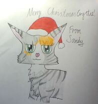 Christmas Crystie by Sandy