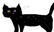 Shadowcloud Warrior Cats fursona request art
