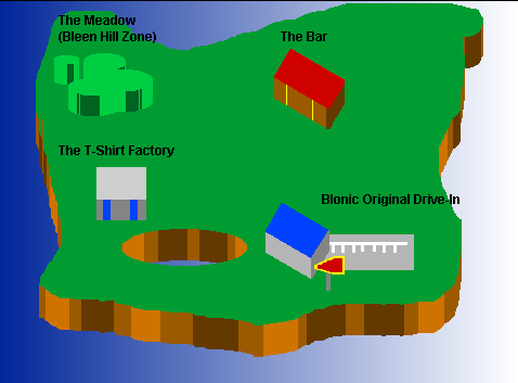 New Map Of Blonic Universe
