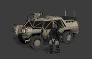 UNCDF Recon Jeep