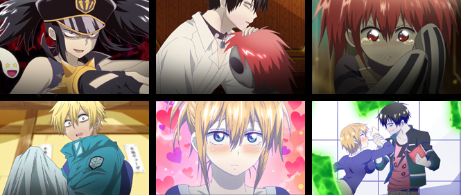 Anime blood lad caracter name hydra bell sexy anime