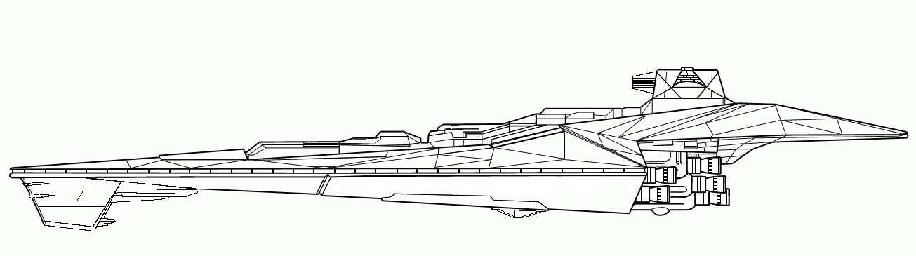Grondon Engineering Trepidation Class Star Destroyer Of Blood And