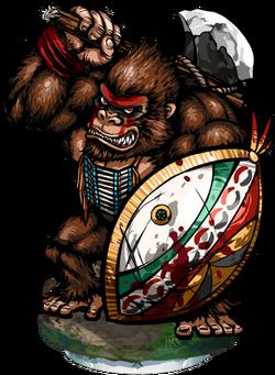 Gorilla Sentinel Figure