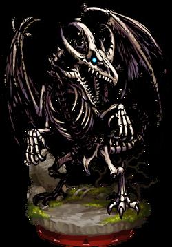 Bone Wyvern Figure