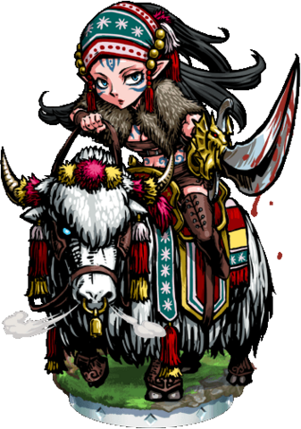 File:Elven Yak Knight Figure.png