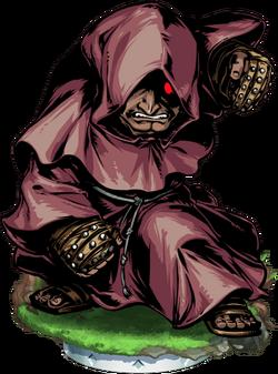 Battle Monk Figure