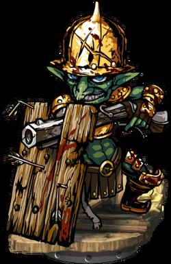 Goblin Heavy Gunner Figure