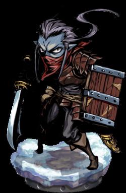 Elven Bandit Figure
