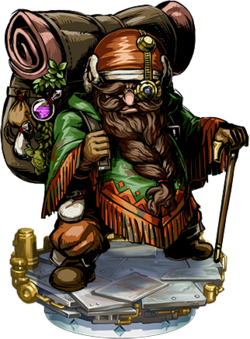 Dwarven Merchant Figure