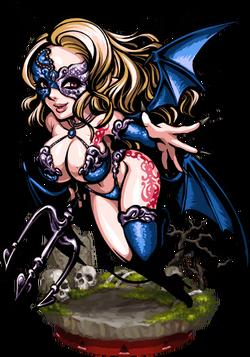 Meridiana the Seductress Figure