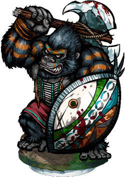 Gorilla Sentinel III Figure