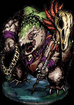 Lizardman Warlock II Figure
