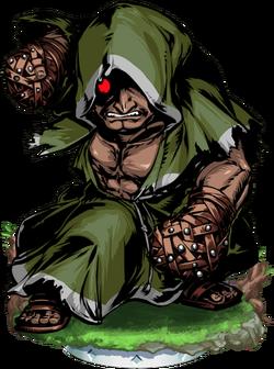Battle Monk II Figure